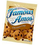 Famous Amos Chocolate Chips cookies