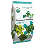 GimMe Roasted Seaweed Snack Sea Salt-